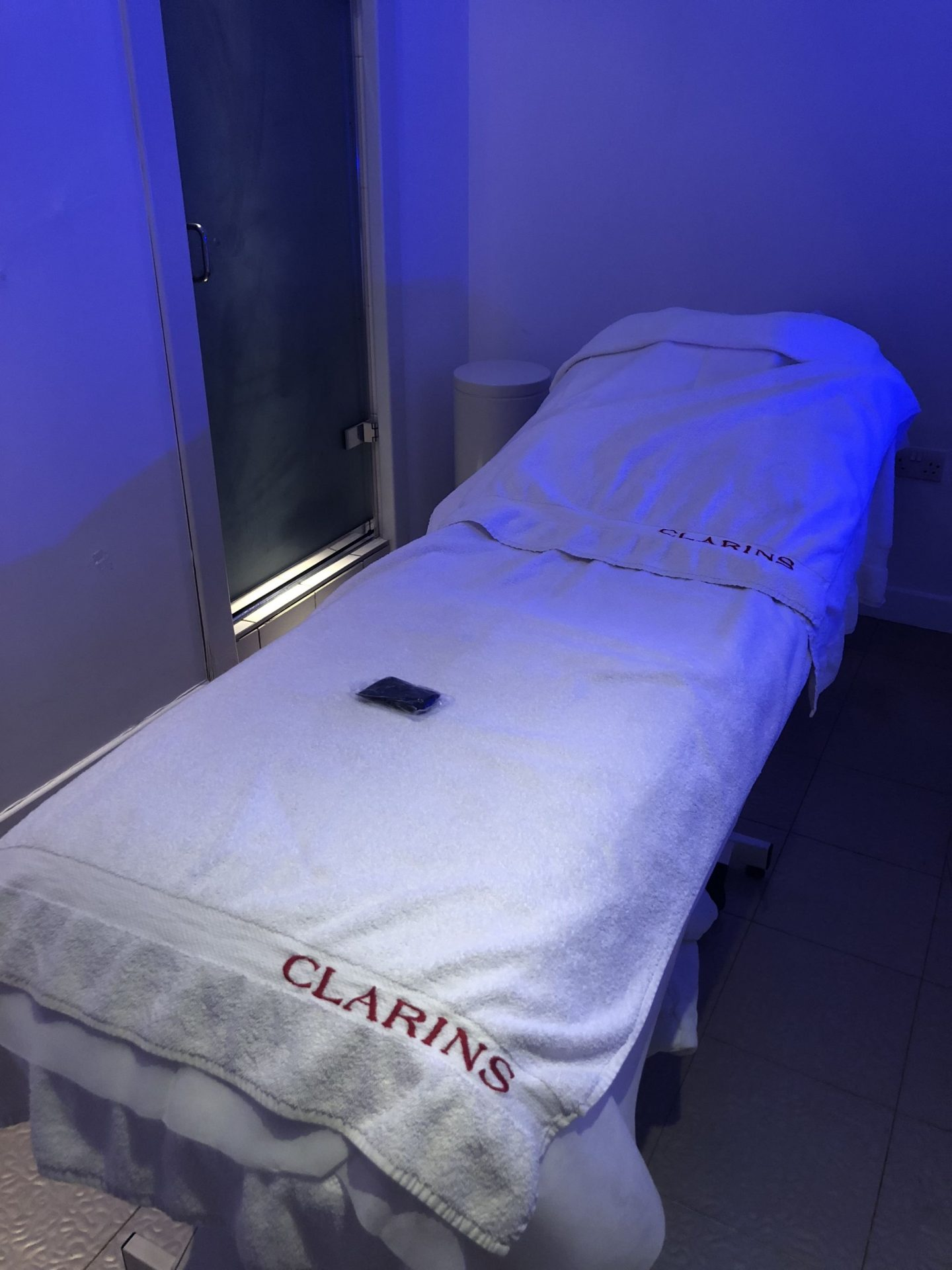 Clarins Skin Spa Treatment Room WhatLauraLoves