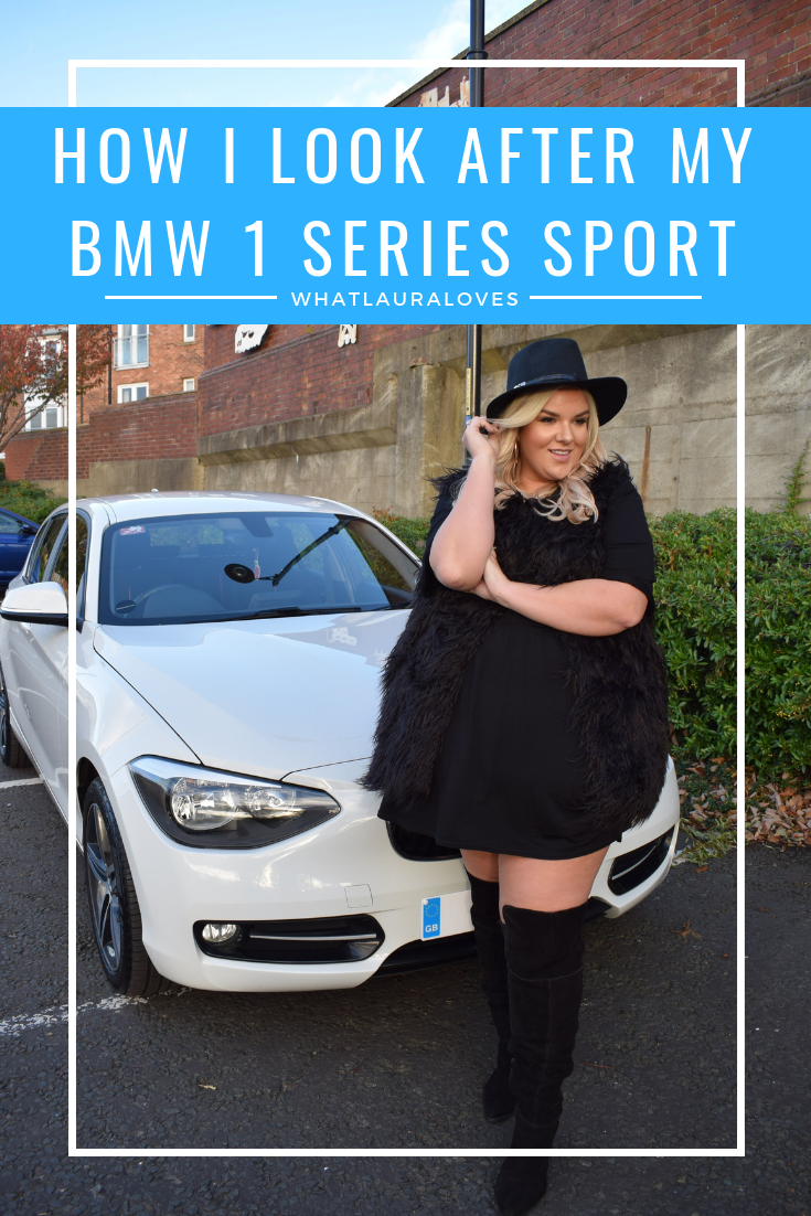 How I Look After my BMW 1 Series Sport and tyre care WhatLauraLoves