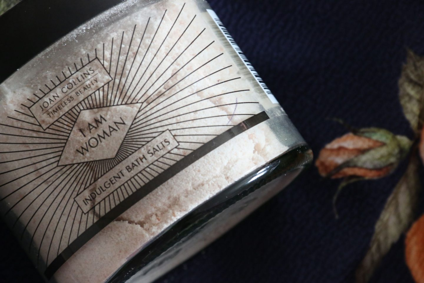 Joan Collins Beauty Bath Salts Review UK Beauty Blogger WhatLauraLoves