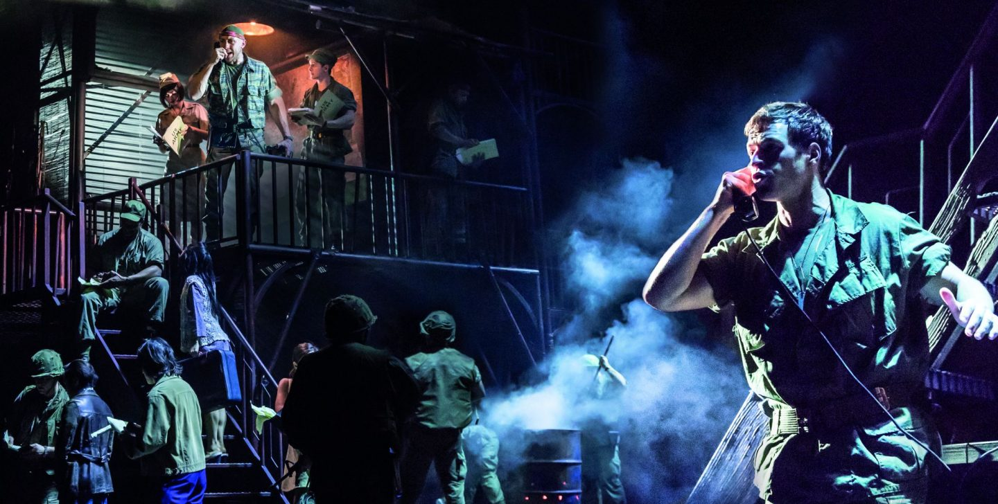 Miss Saigon at the Sunderland Empire Theatre Review