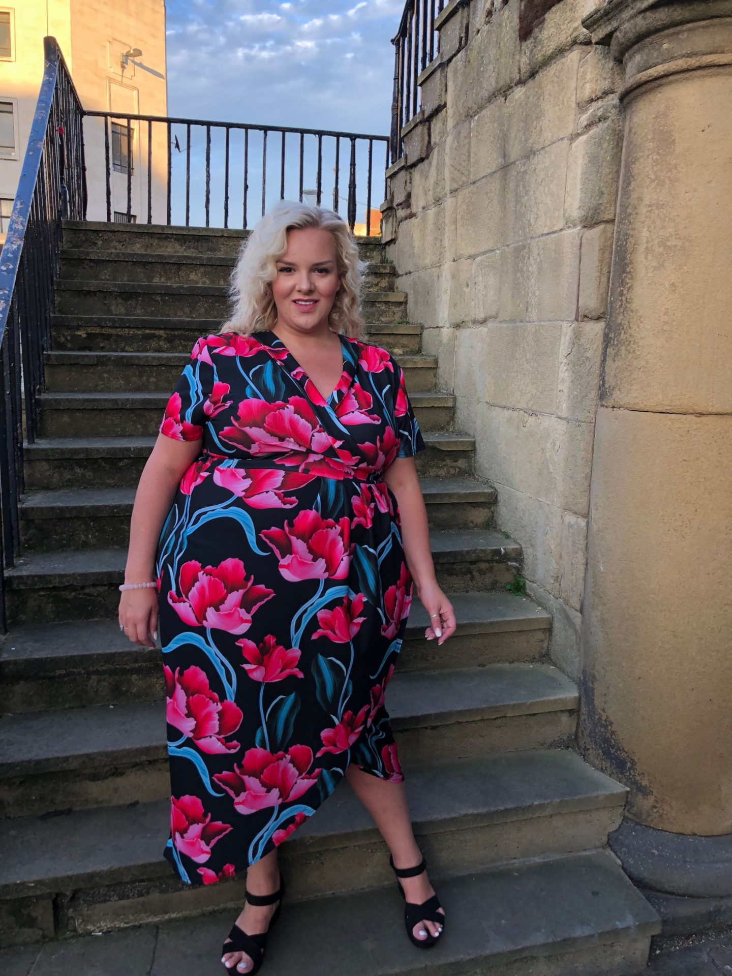 Quiz Clothing Curve Wrap Dress on WhatLauraLoves