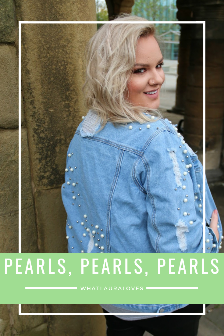 Accessorising with pearls whatlauraloves