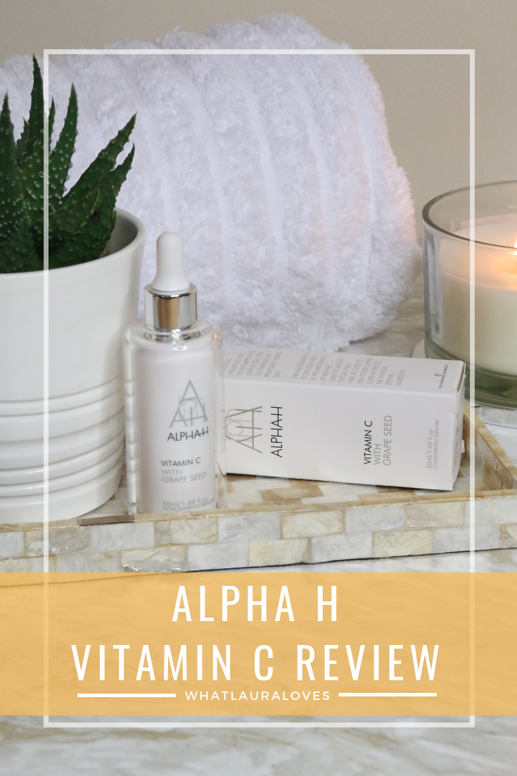 Alpha H Vitamin C Review WhatLauraLoves