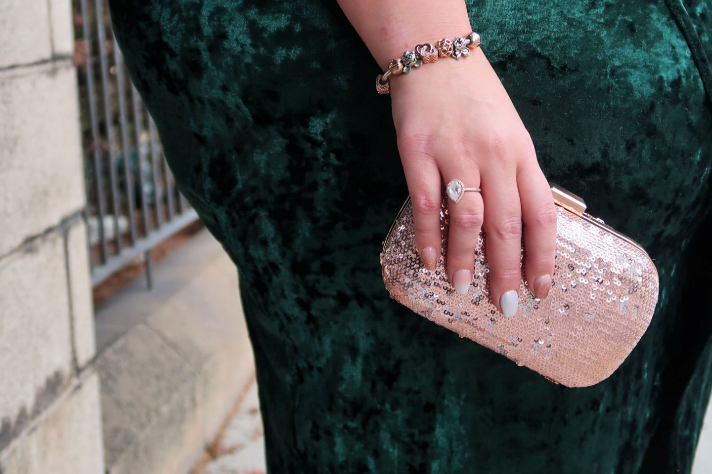Rose Gold Clutch Simply Be WhatLauraLoves