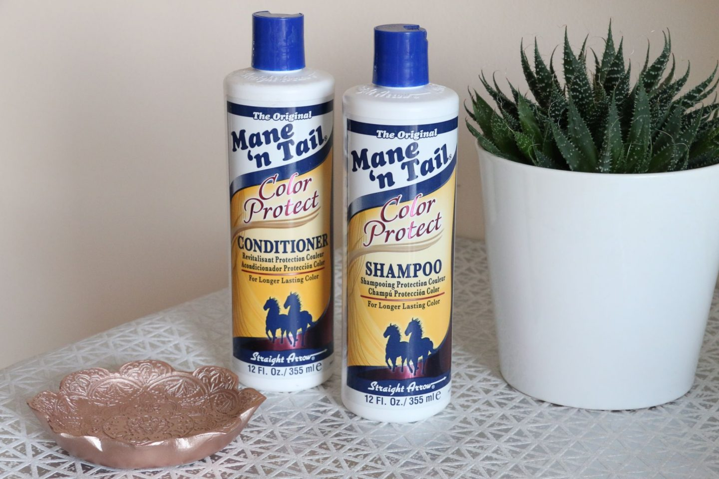 Mane n Tail Color Protect Shampoo and Conditioner WhatLauraLoves