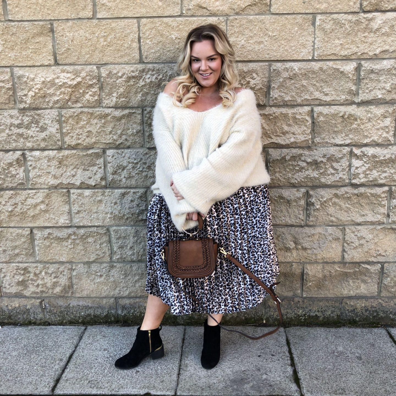 WhatLauraLoves Pretty Little Thing Leopard Print Skirt