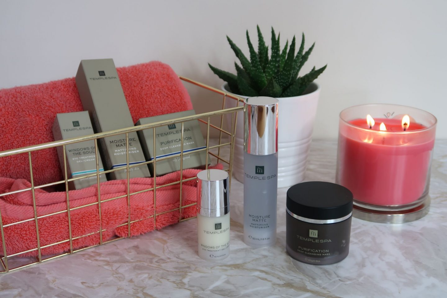 Temple Spa Skincare Products