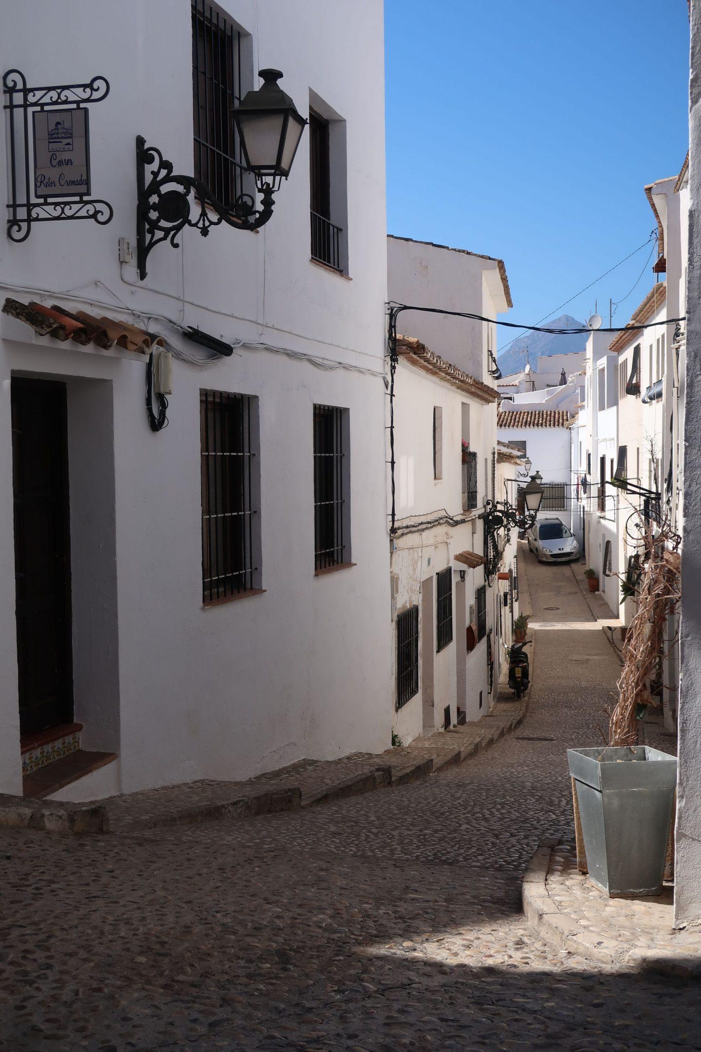 Altea Old Town WhatLauraLoves uk Travel blog