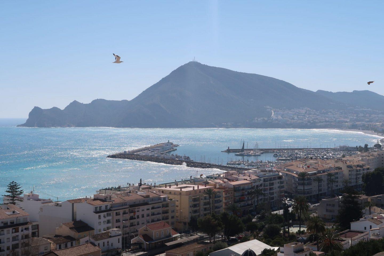 Altea Views Costa Blanca WhatLauraLoves UK Plus Size Travel Blog