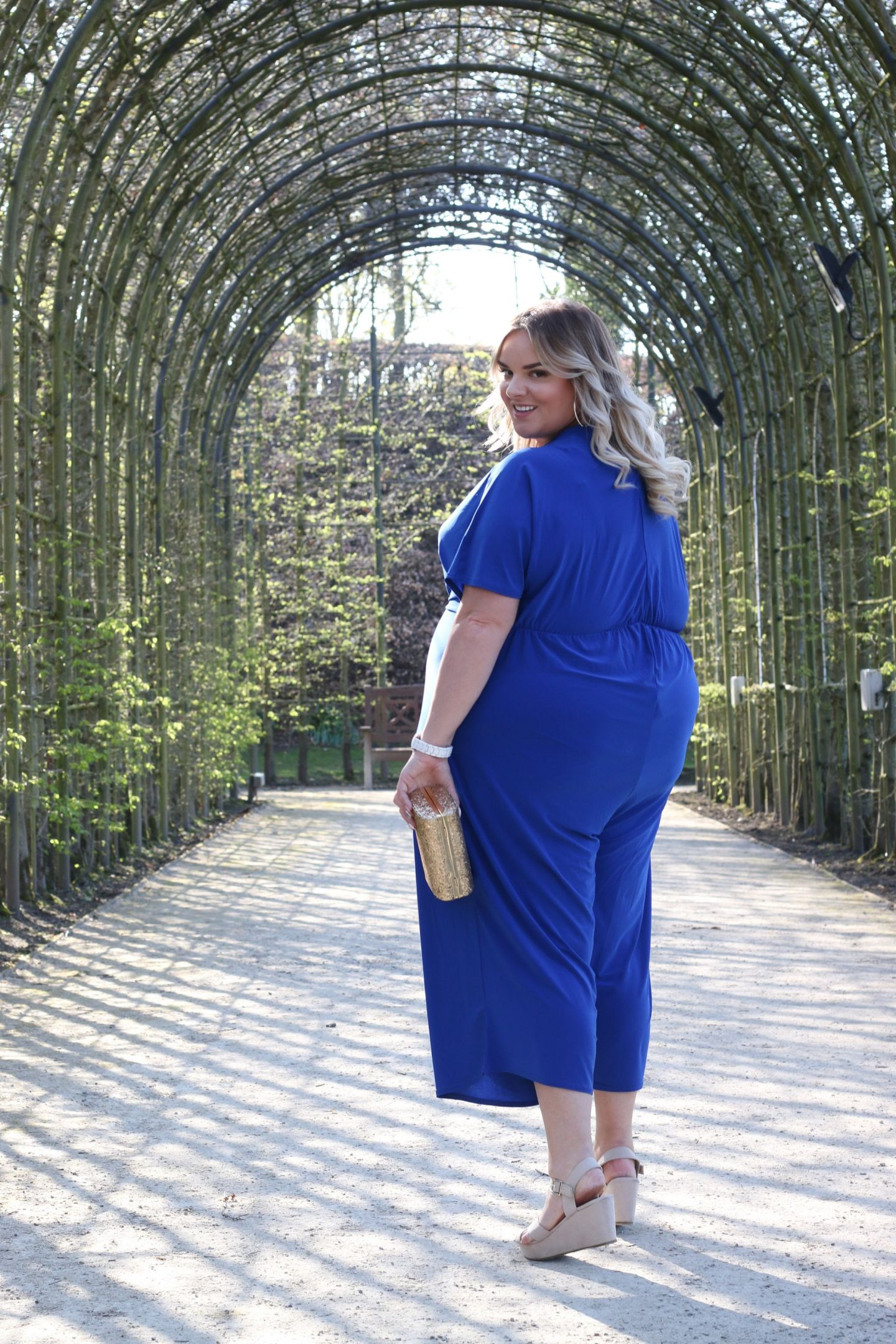 Cobalt Blue Jumpsuit Simply Be