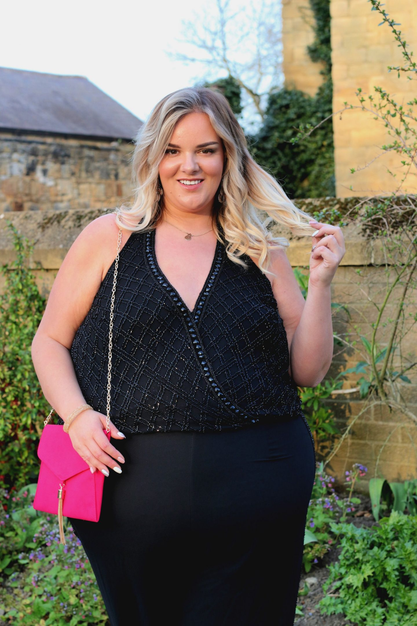 Whatlauraloves plus size blogger joanna hope simply be jumpsuit