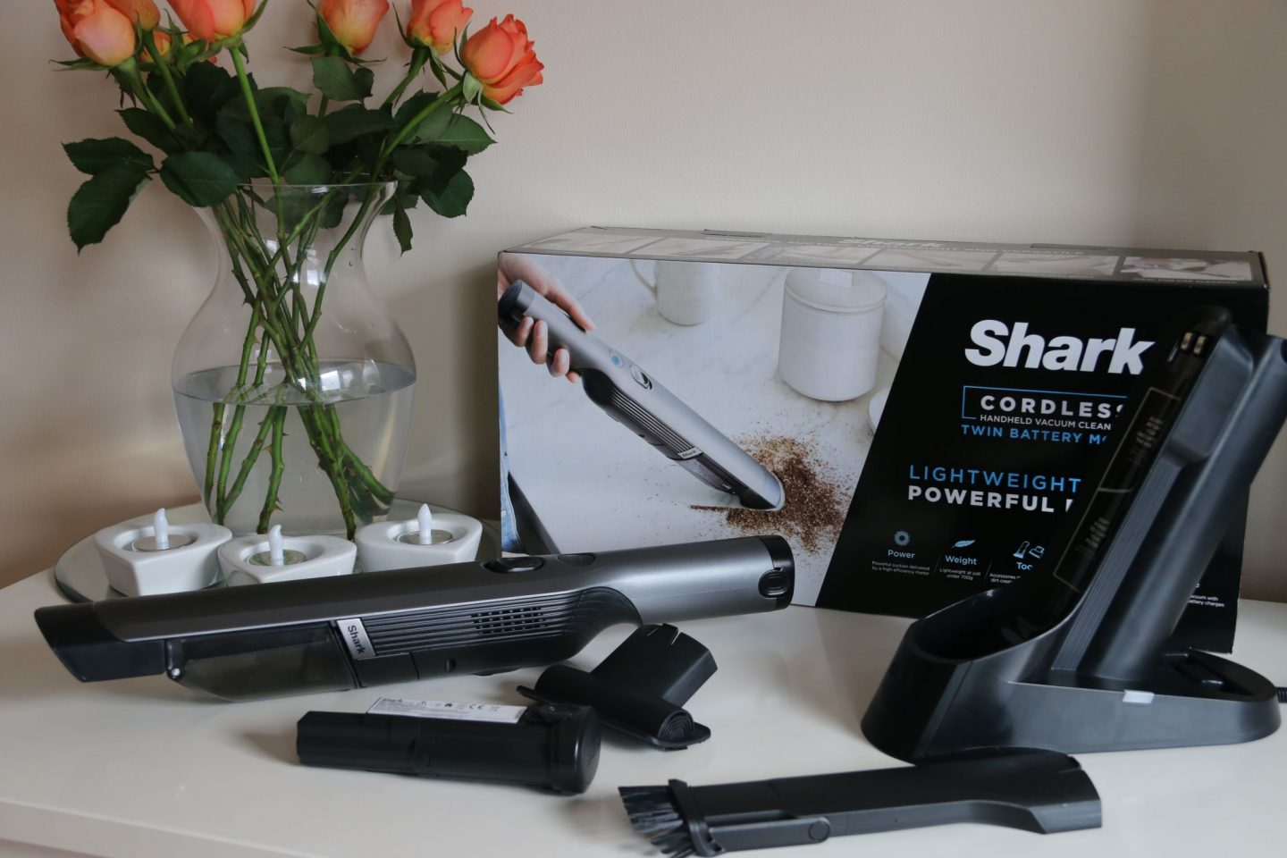 Shark Cordless Handheld Vacuum Review WhatLauraloves