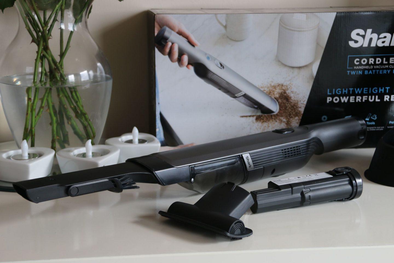 Shark Cordless Handheld Twin Battery Review whatlauraloves