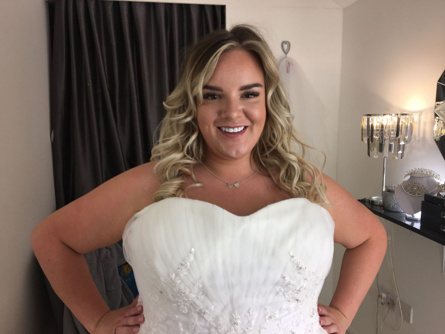 Whatlauraloves plus size wedding dress