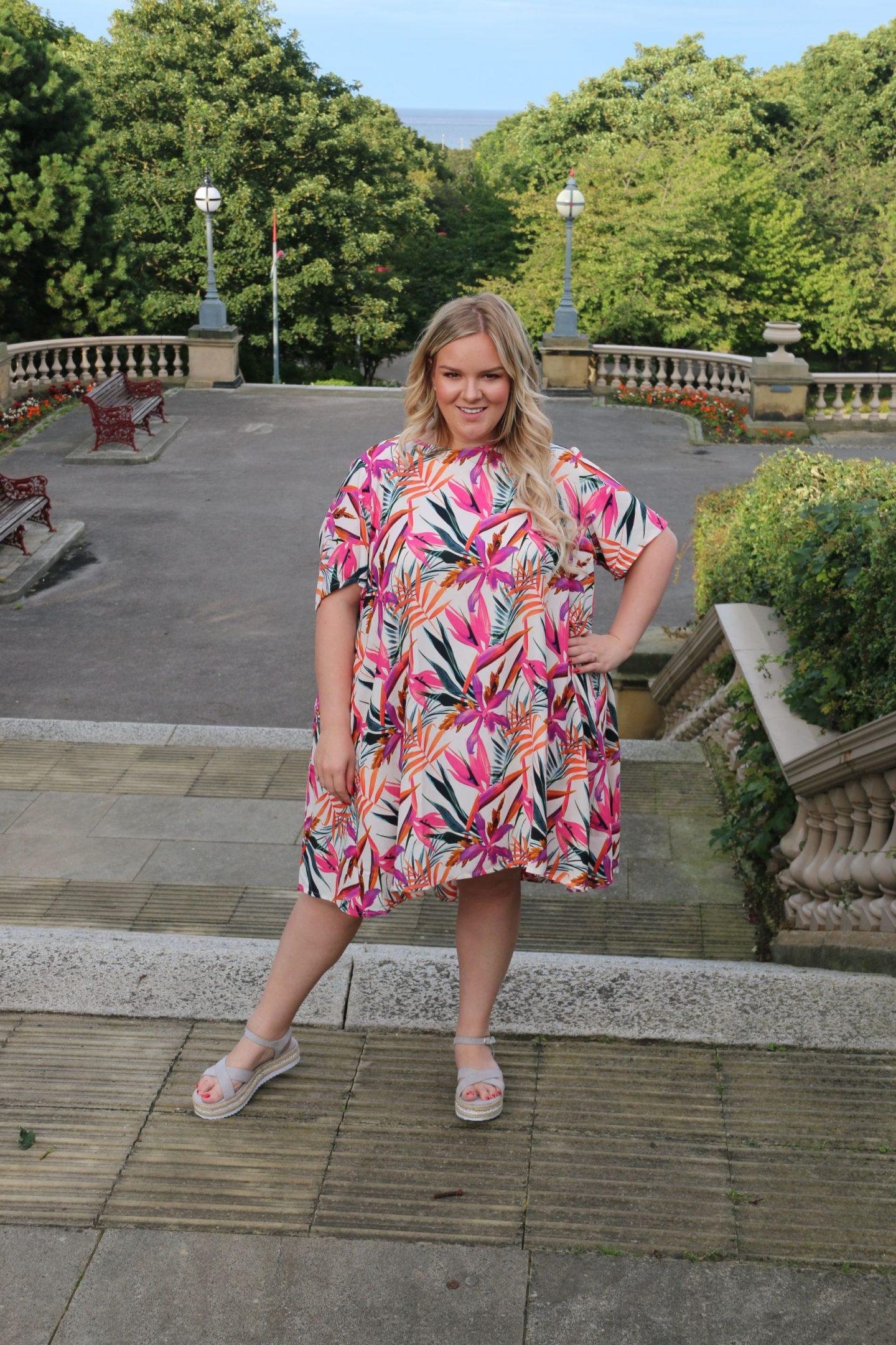 Plus Size Smock Dress WhatLauraLoves