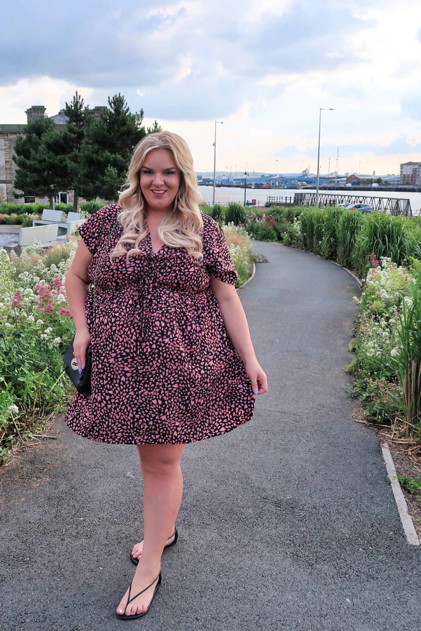 WhatLauraLoves Simply Be Glamorous Curve Plus Size Dress