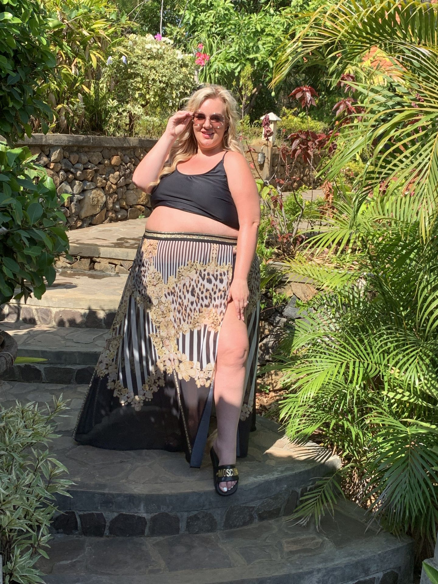 Plus Size Poolside Glamour