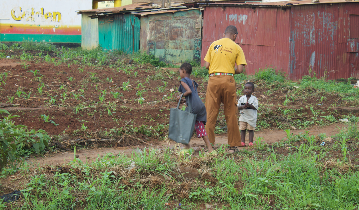 Donating in Kenya