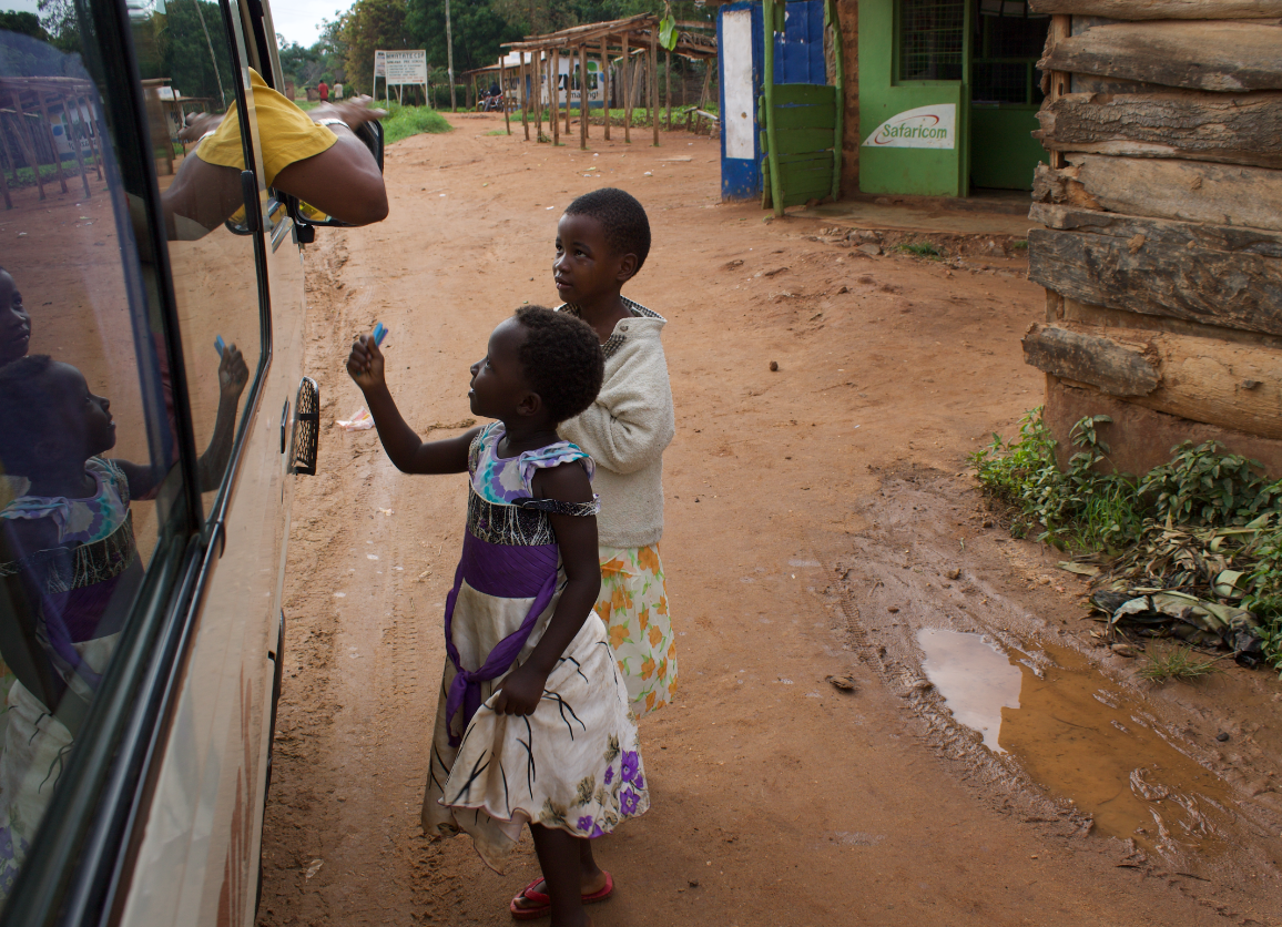 Donations in Kenya