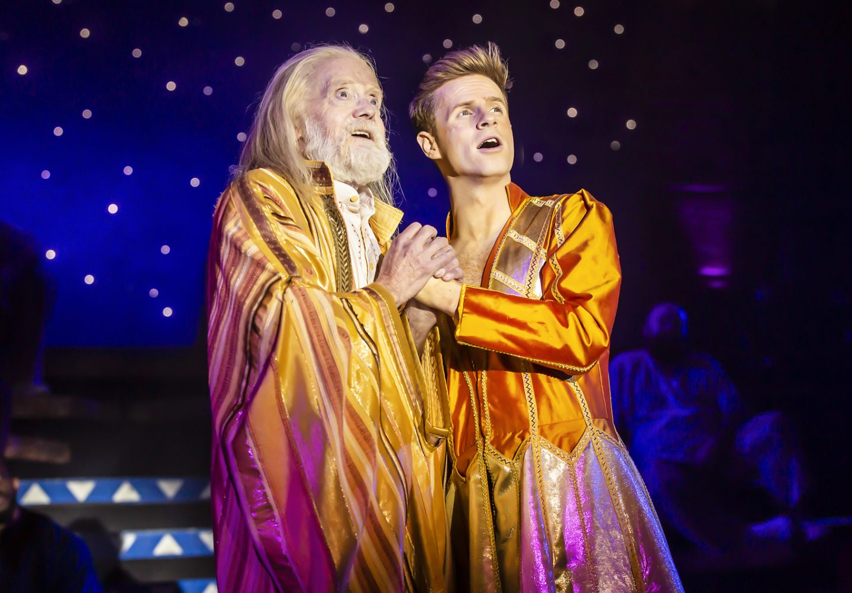 James Head (Jacob) and Mark McMullan (Joseph) - Joseph and the Amazing Technicolor Dreamcoat - Photo Credit Pamela Raith (150)