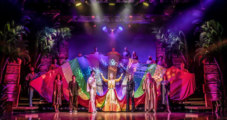 The Cast of Joseph and the Amazing Technicolor Dreamcoat - Photo Credit Pamela Raith (165)